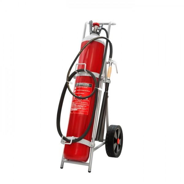 Τροχήλατος Πυροσβεστήρας 30Κg CΟ2